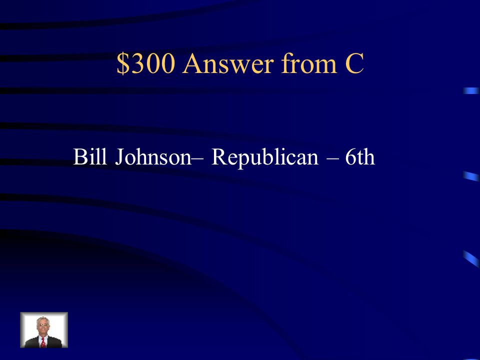 $300 Question from C Who is our current U.S.