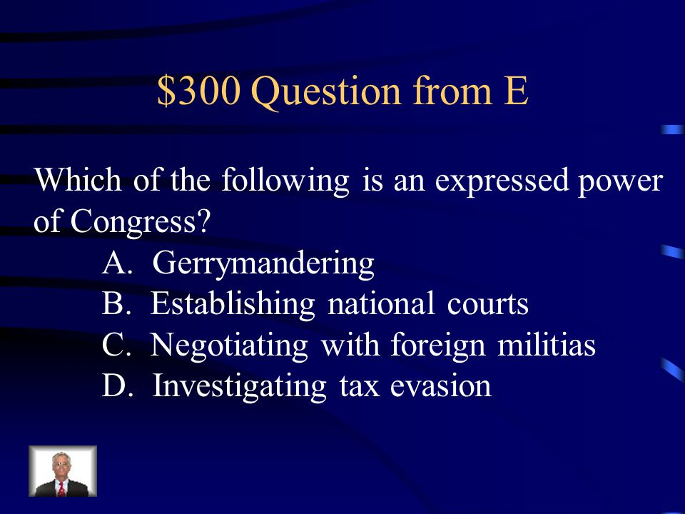 $200 Answer from E Republicans