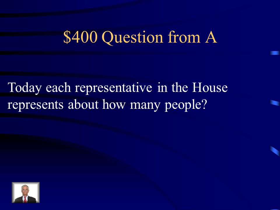 $300 Answer from A constituents