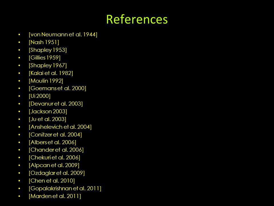 References [von Neumann et al.