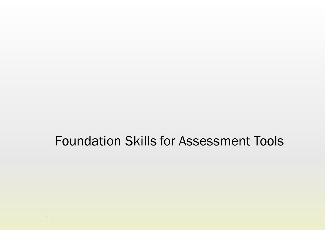 1. Identify foundation skill requirements BSBWHS508A Manage WHS hazards associated with plant 12