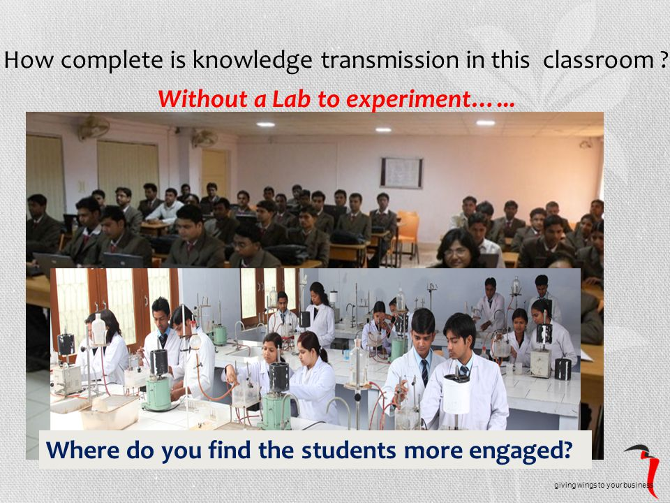 How complete is knowledge transmission in this classroom .