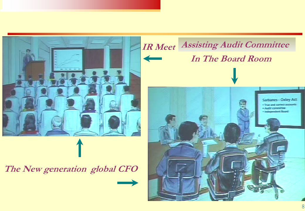 8 The New generation global CFO IR Meet In The Board Room Assisting Audit Committee