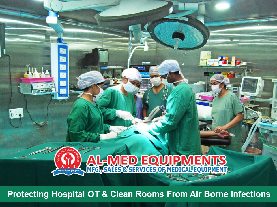 Protecting Hospital OT & Clean Rooms From Air Borne Infections