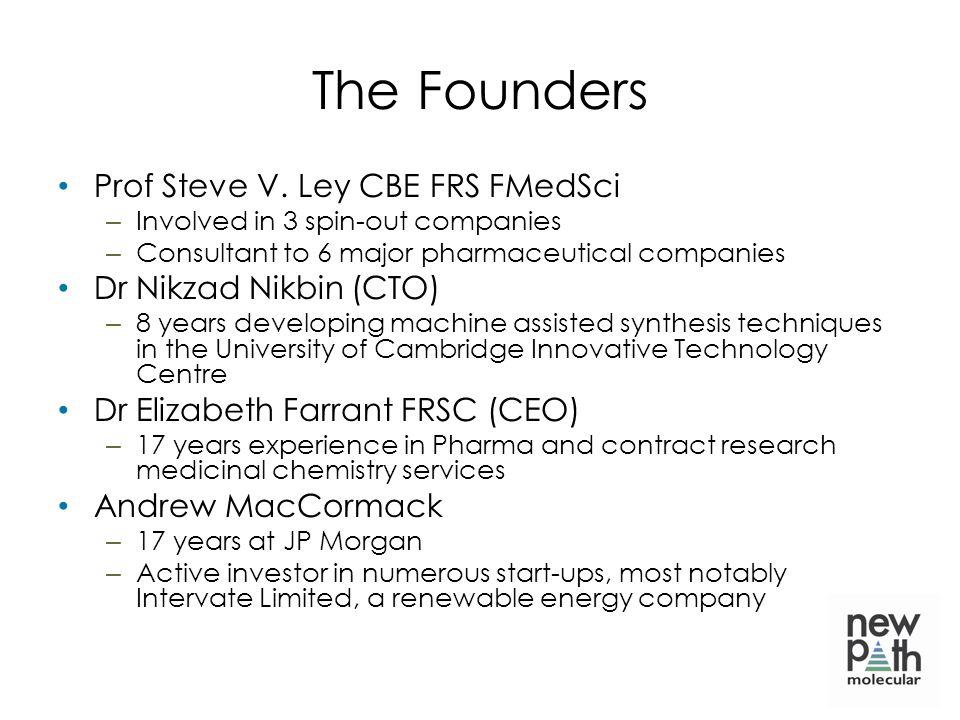 The Founders Prof Steve V.