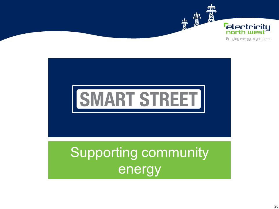 26 Supporting community energy