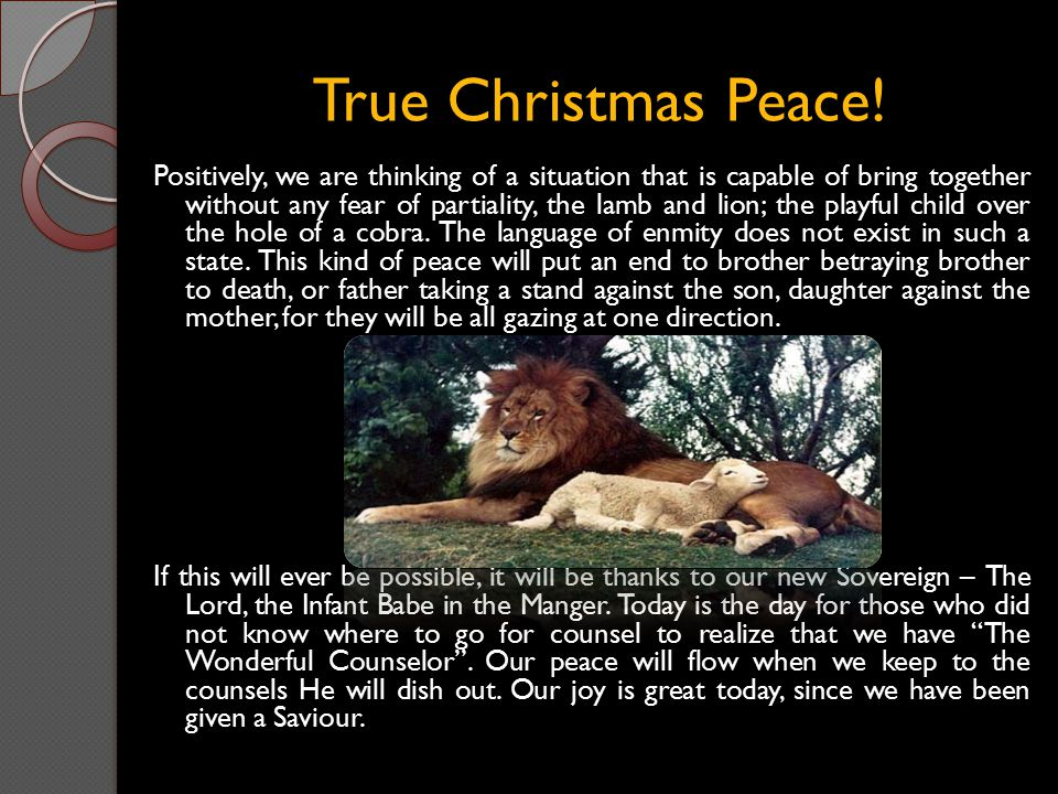 Celebrating the Gift of Salvation.