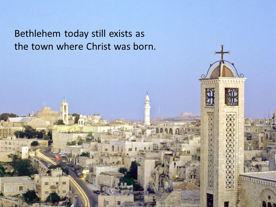 Bethlehem's people are suffering and imprisoned.They have asked for our help.
