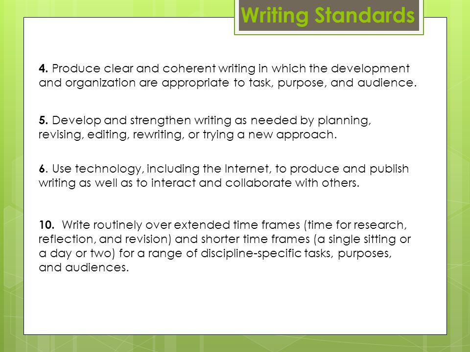 Writing Standards 4.
