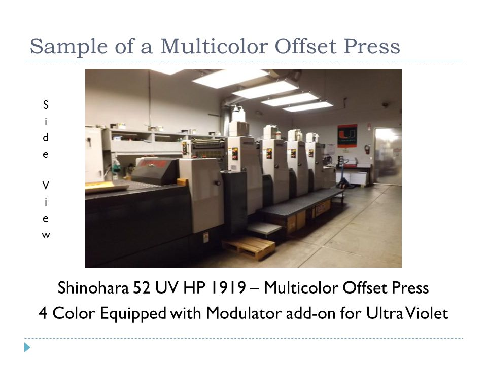 Industry Outlook The printing industry is changing at a rapid pace, driven by new production technology changes in demand and competition from other media for time and money.