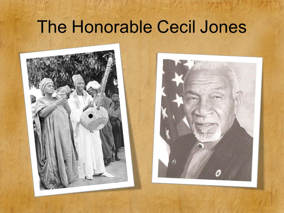 The Honorable Cecil Jones