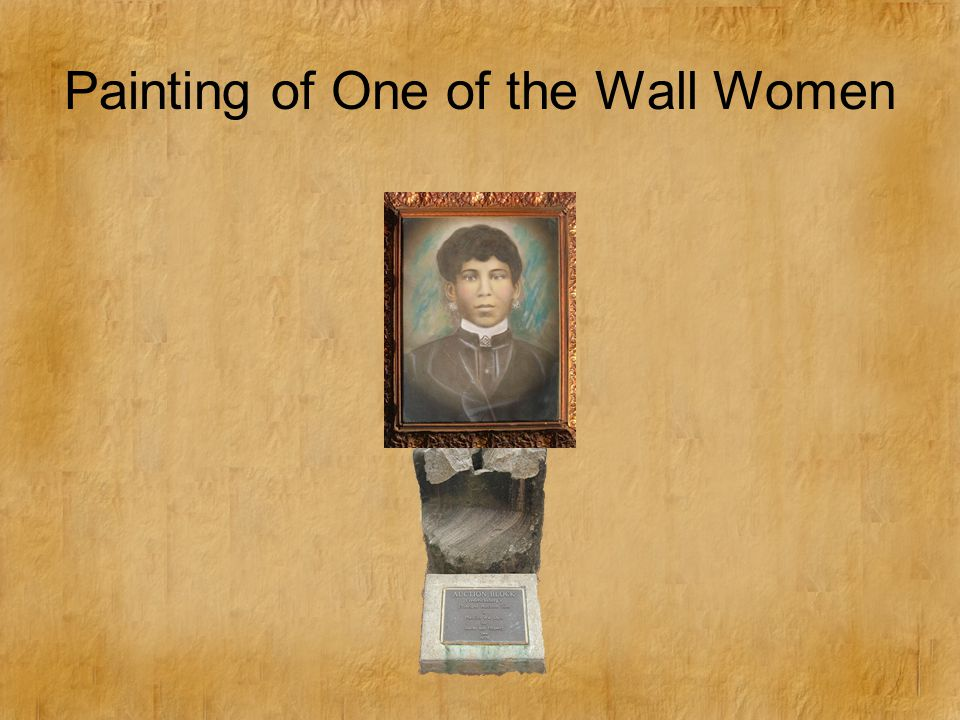 Painting of One of the Wall Women