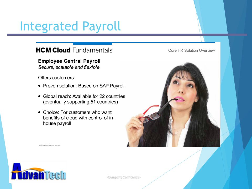 -Company Confidential- Integrated Payroll