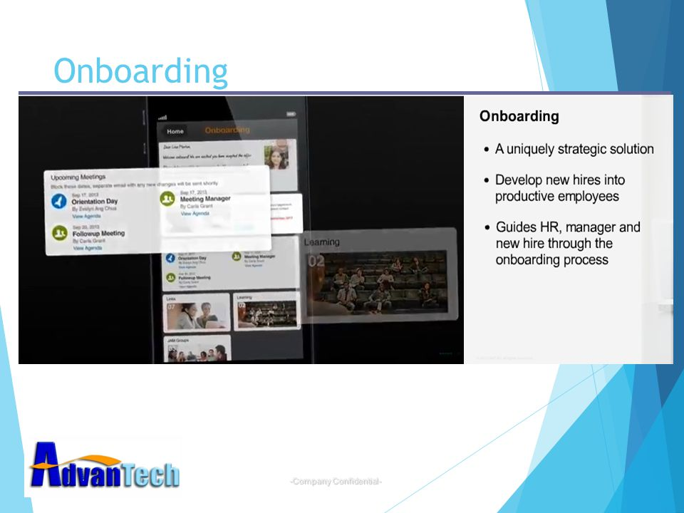 -Company Confidential- Onboarding