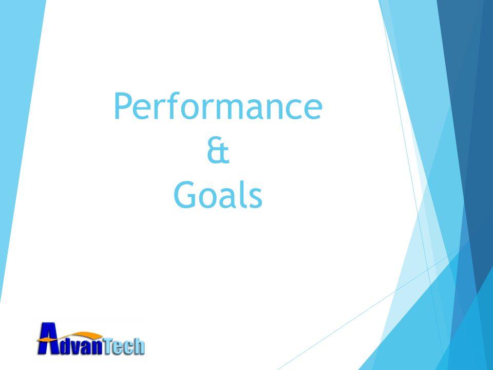 Performance & Goals