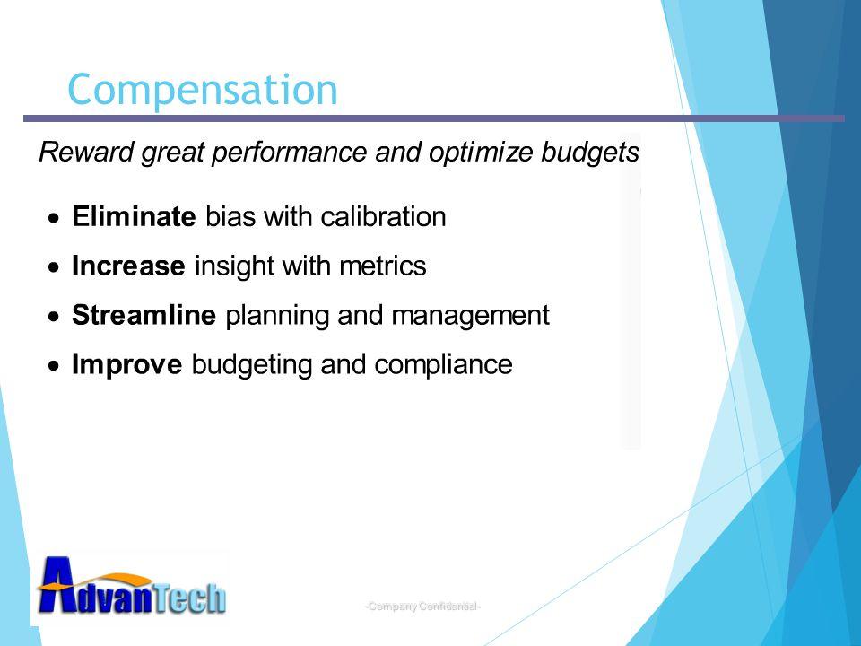 -Company Confidential- Compensation
