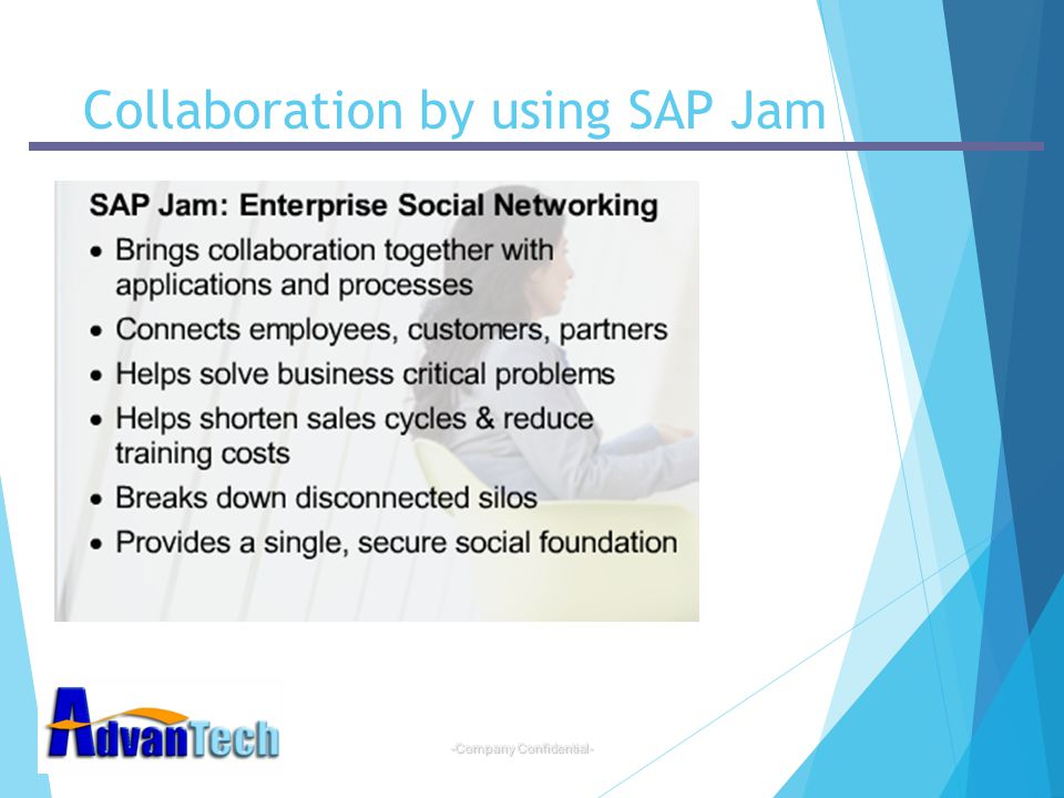 -Company Confidential- Collaboration by using SAP Jam