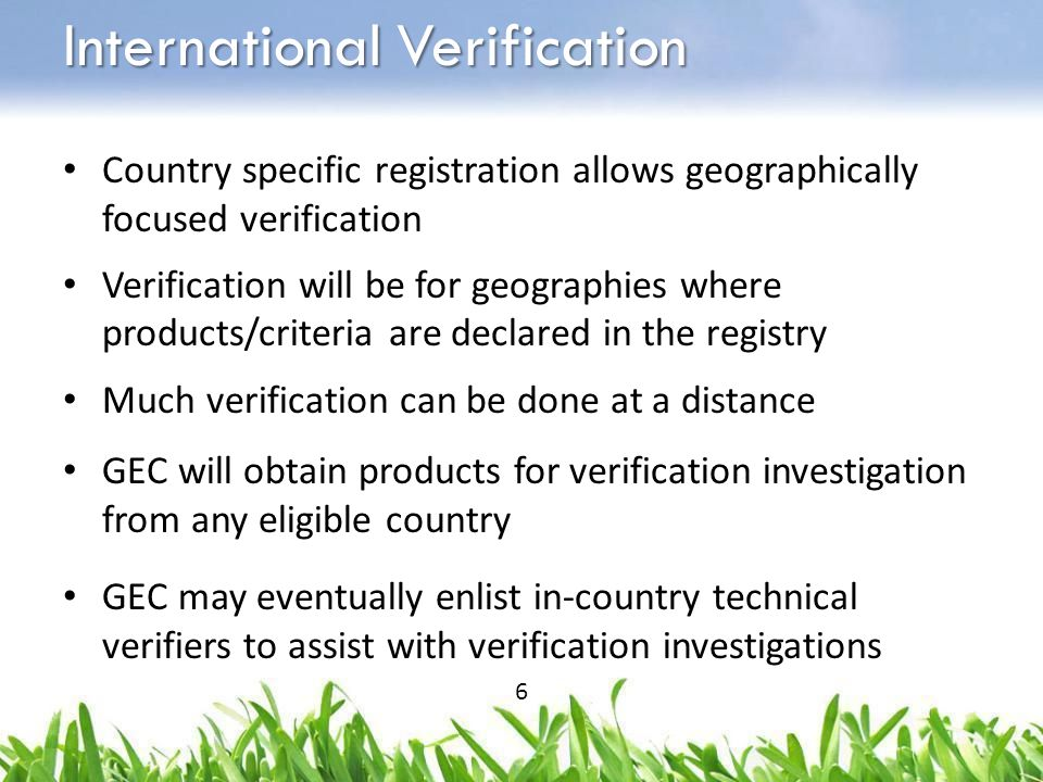 Can only claim EPEAT Registered or EPEAT Bronze/Silver/Gold for those countries where product is actually actively registered For broad marketing communications, must clarify that registration applies only in specific geographies and refer to EPEAT website for coverage Purchasers are advised to select only products registered in their geography – to ensure transparency of registration, conformance, verification Stricter Int'l Marketing Guidelines 7