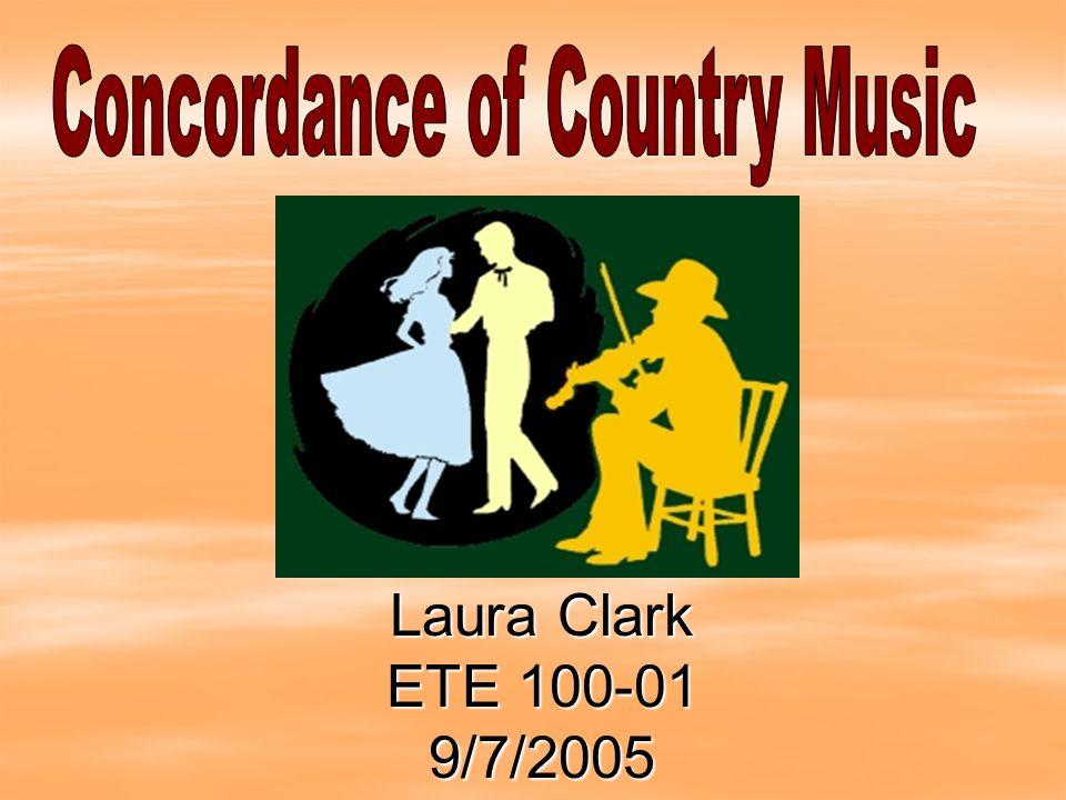 Laura Clark ETE 100-01 9/7/2005