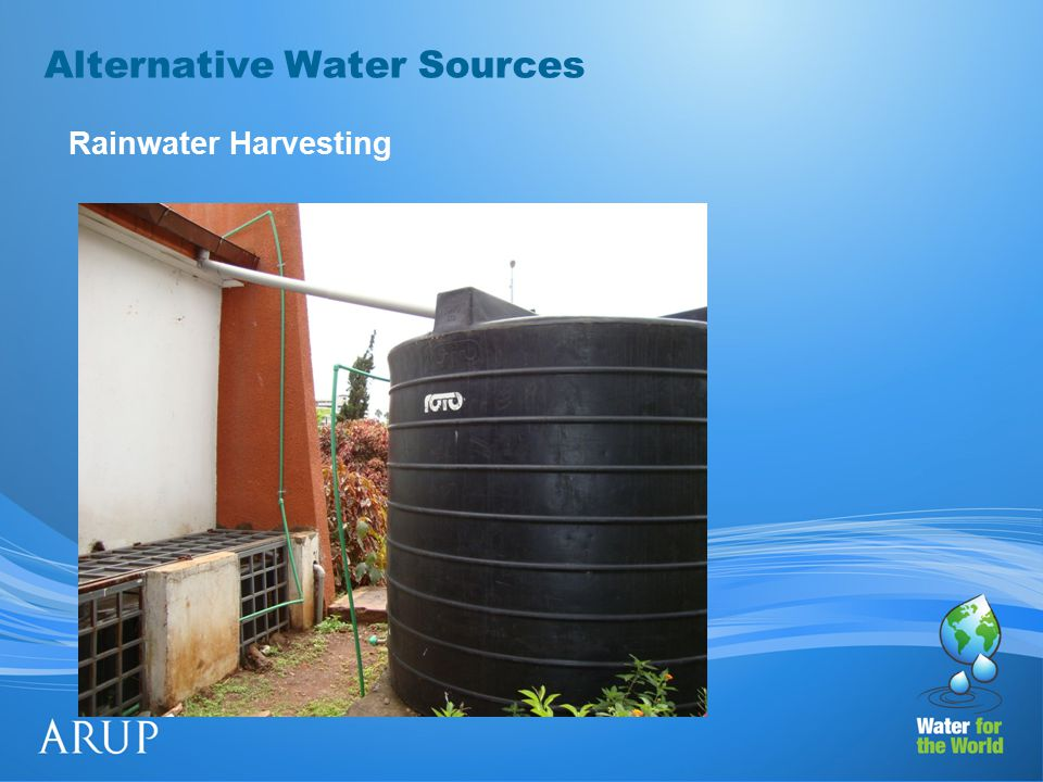 Alternative Water Sources Rainwater Harvesting