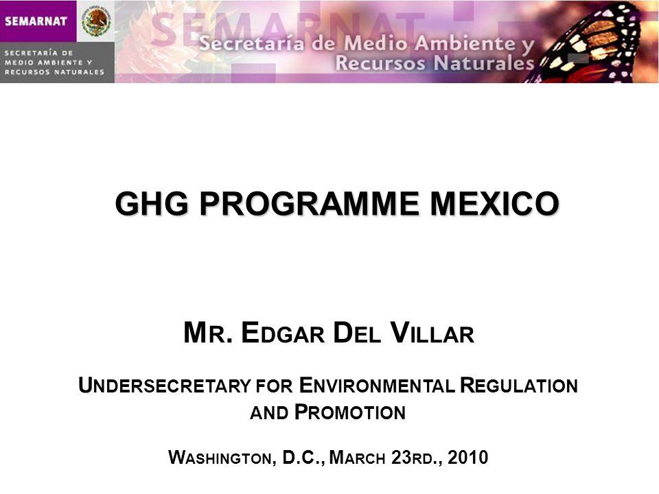 GHG PROGRAMME MEXICO M R.