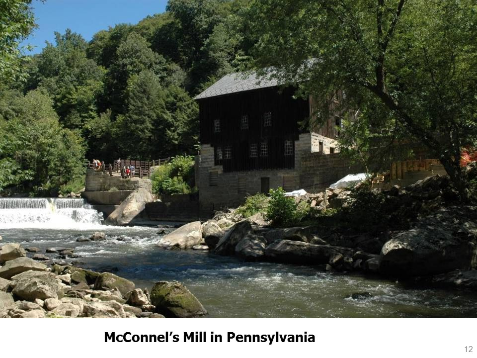 12 McConnel's Mill in Pennsylvania