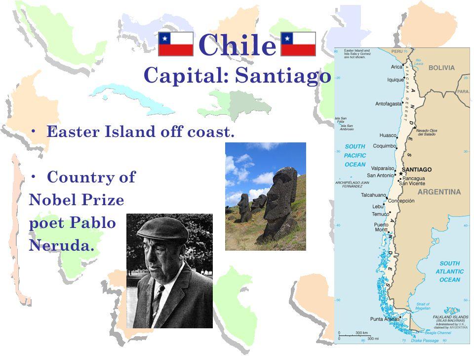 Costa Rica Capital: San Jose President Oscar Arias Sanchez won Nobel Peace Prize in 1987 Beautiful rainforests and Eco-tourism.
