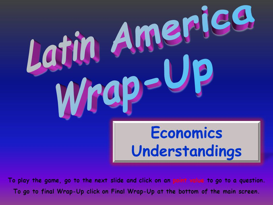 What type of economy does Mexico have?
