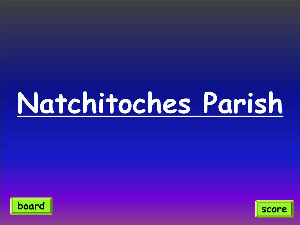 Natchitoches Parish score board