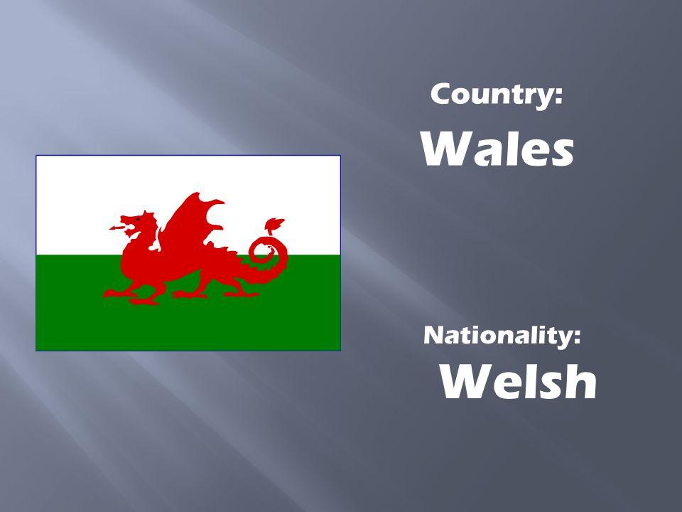 Nationality: Scottish Country: Scotland