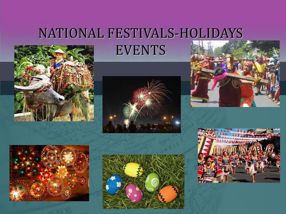 NATIONAL FESTIVALS-HOLIDAYS EVENTS
