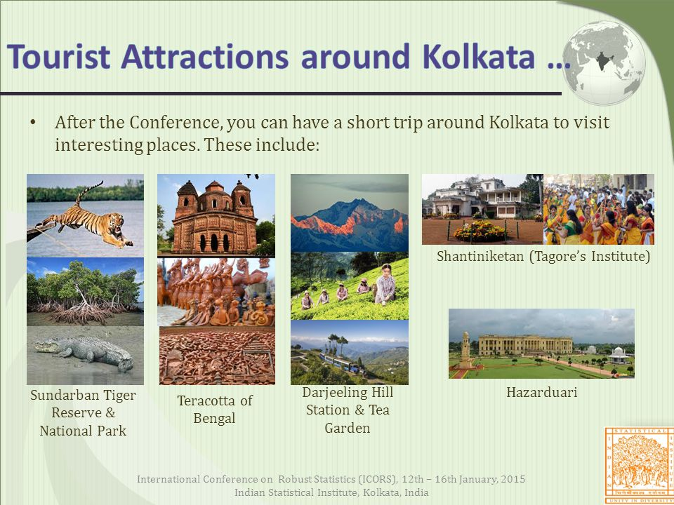 After the Conference, you can have a short trip around Kolkata to visit interesting places.