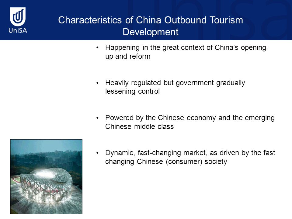 Australia's Market Share in China Outbound Tourism