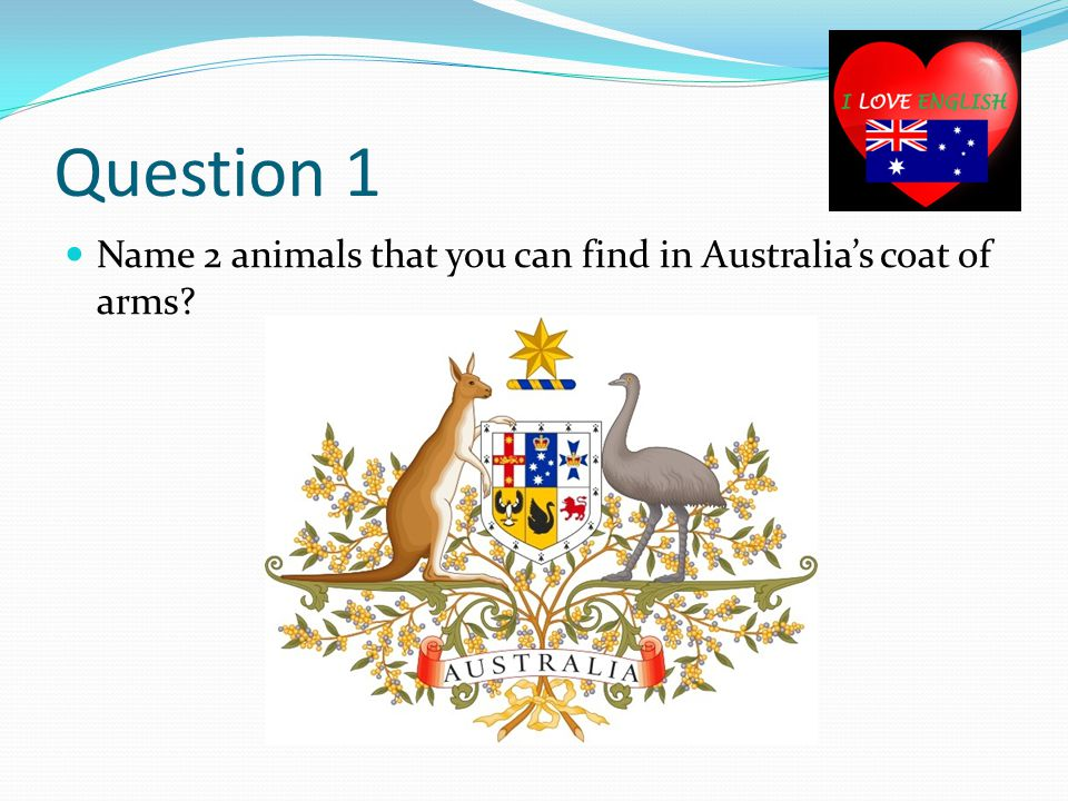 Question 2 Why is there a United Kingdom flag included in Australia's flag?