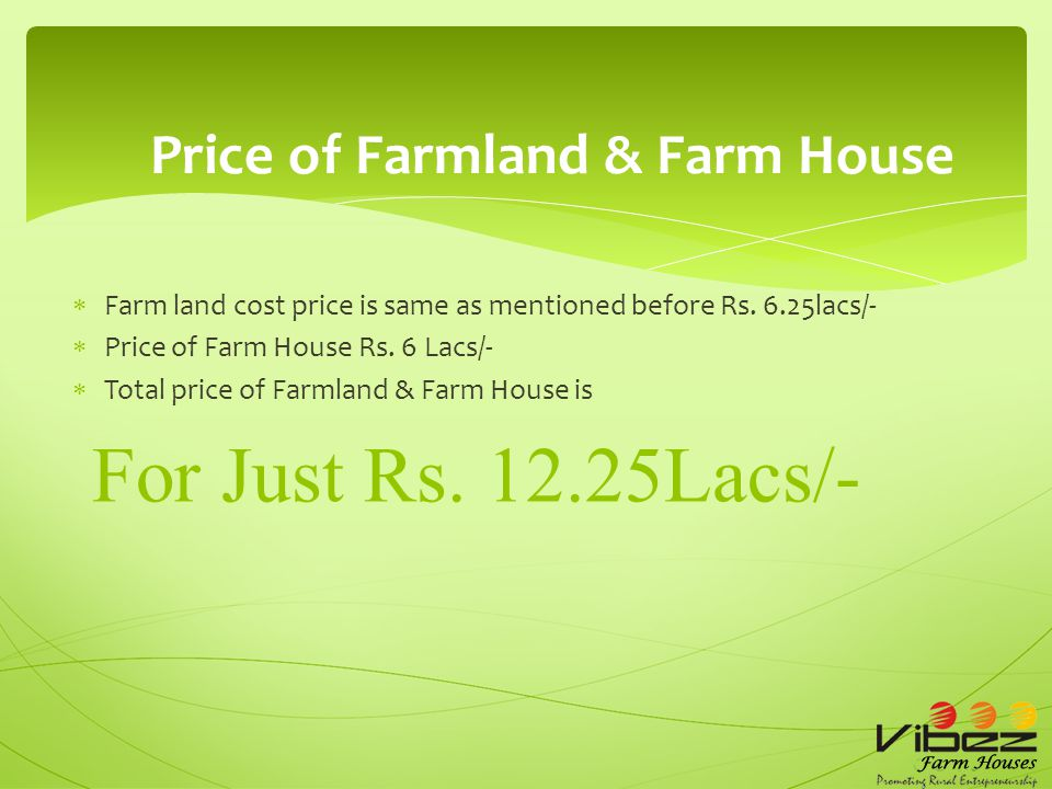  Own a Farmland of 5000 sq.ft  With plantation of Coffee, Pepper & Fruits  1 years Maintenance free with annual returns For just Rs.