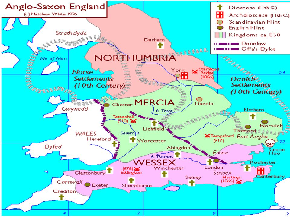 After the invasions and settlements, people began speaking a Germanic language later to be known as Old English.