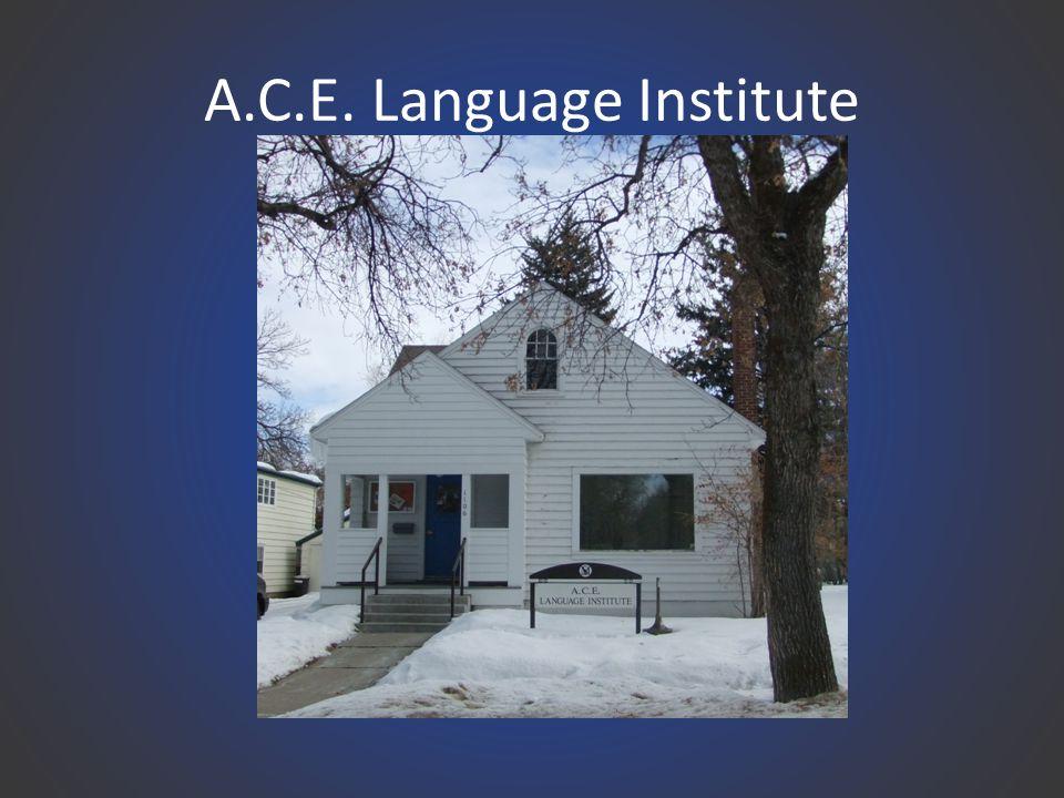 A.C.E. Language Institute