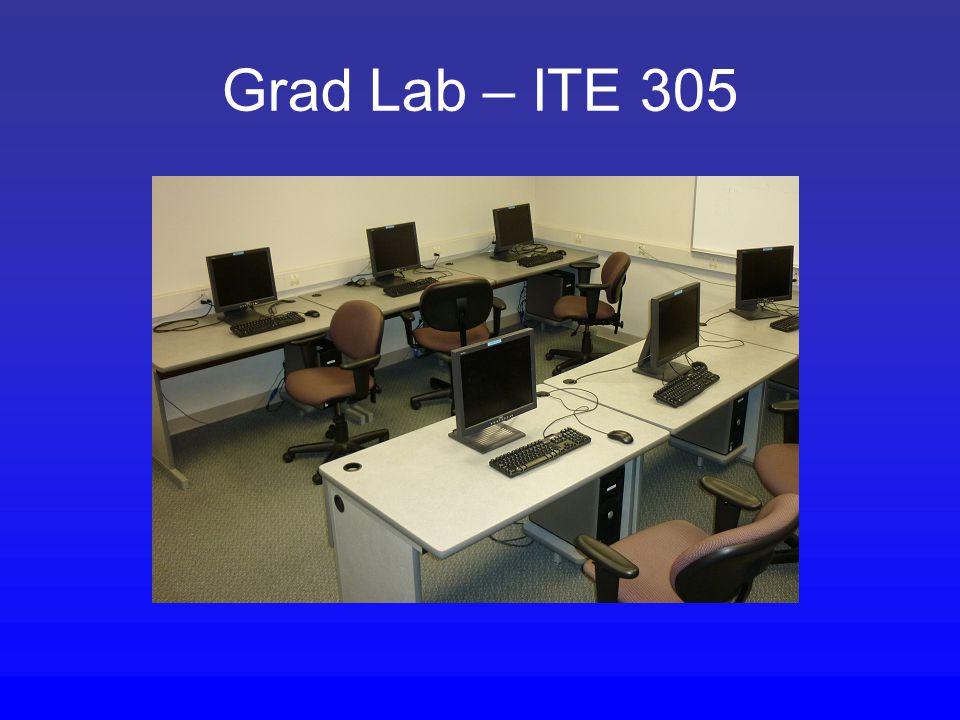 Grad Lab – ITE 305