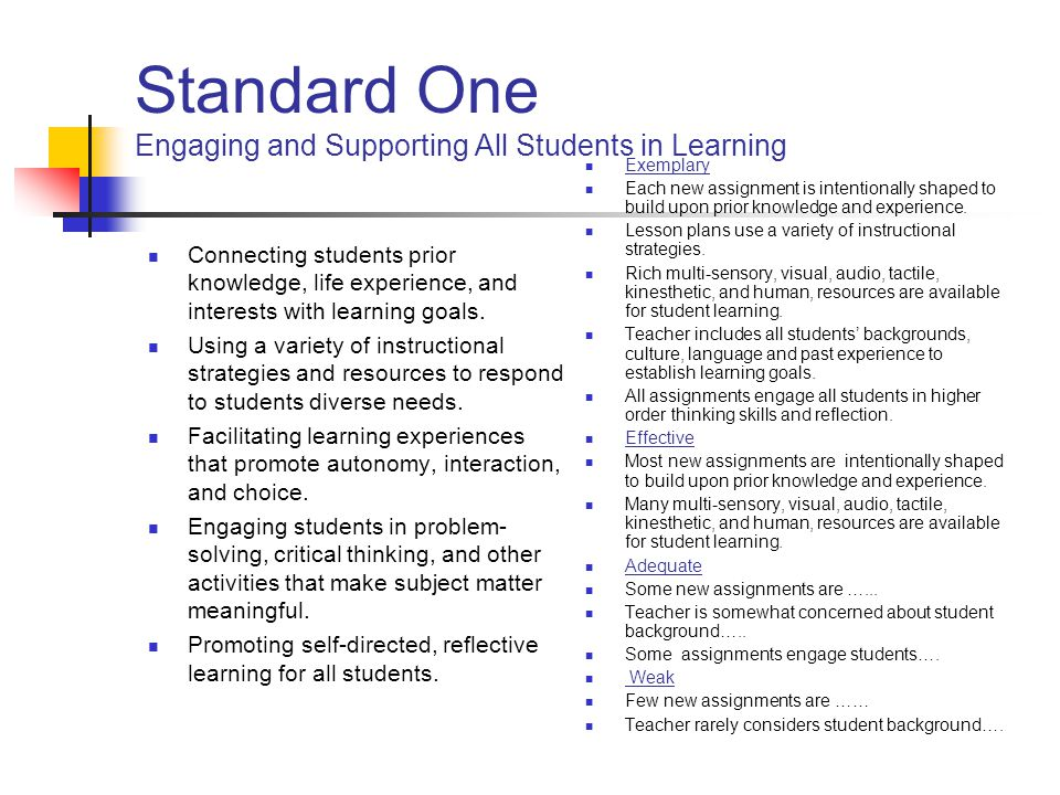 Ca Standards For The Teaching Profession Rubric - Lawteched