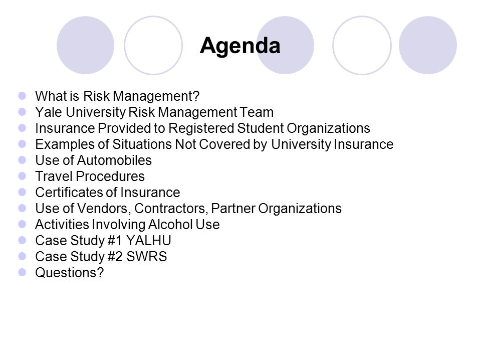What Is Risk Management.