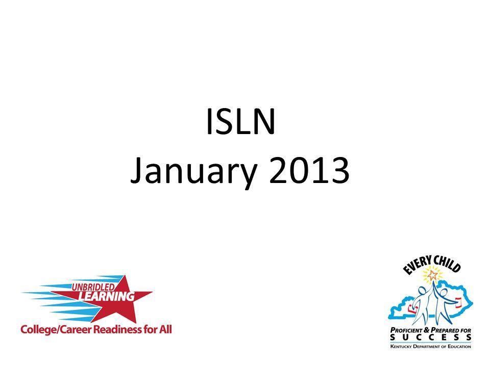 ISLN January 2013