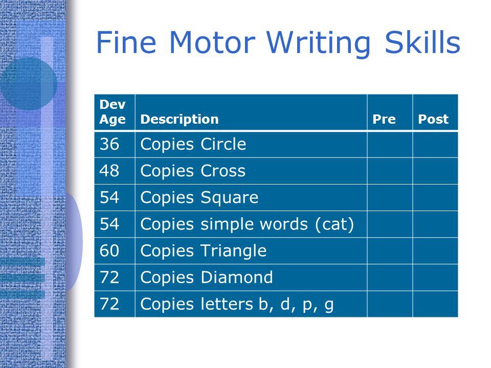 Checklists of Reading Skills