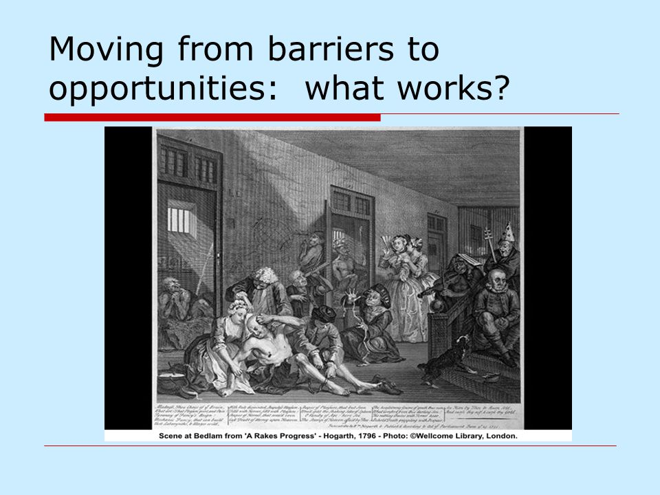 Moving from barriers to opportunities: what works?