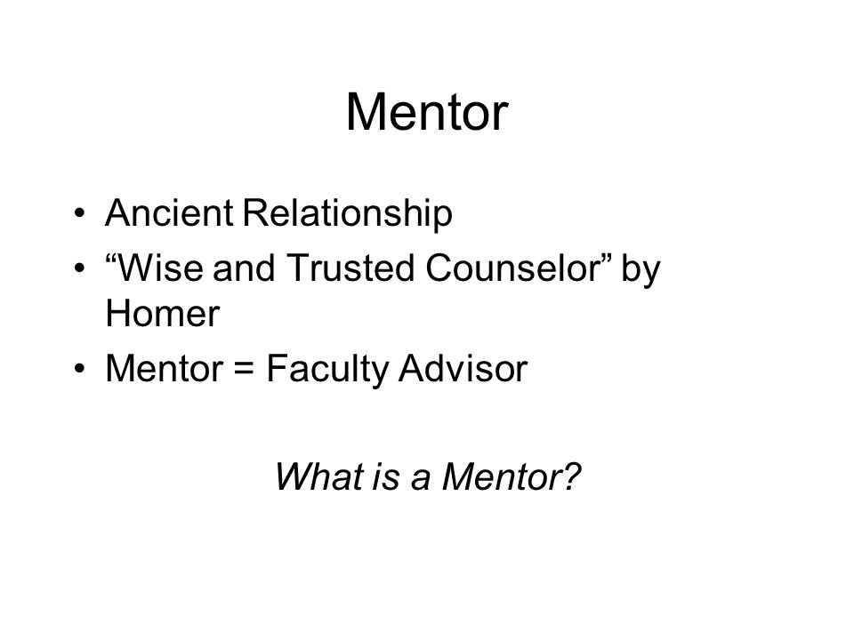 Mentor - Advisers, people with career experience willing to share their knowledge; - Supporters, people who give emotional and moral encouragement; - Tutors, people who give specific feedback on one's performance; - Masters, in the sense of employers to whom one is apprenticed; - Sponsors, sources of information about and aid in obtaining opportunities; - Models, of identity,of the kind of person one should be to be an academic.