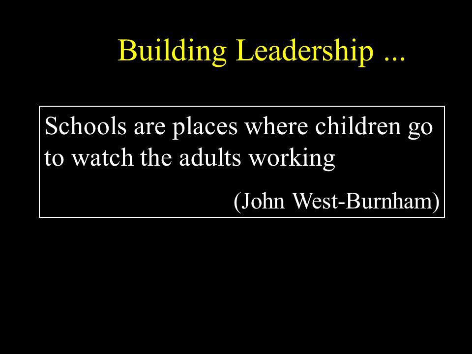 Building Leadership...