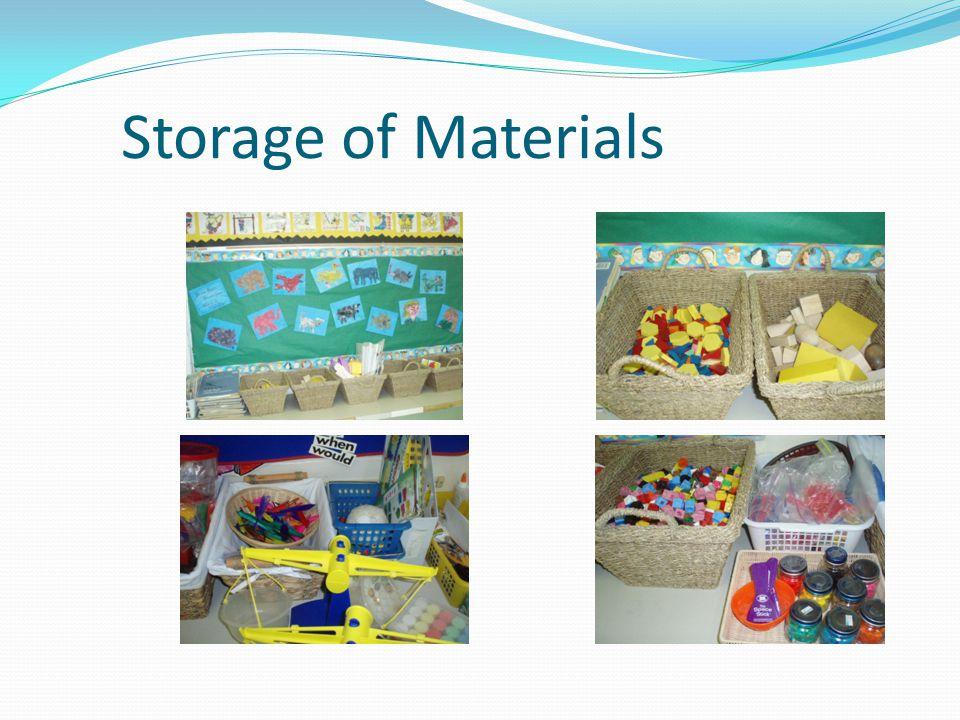 Storage of Materials