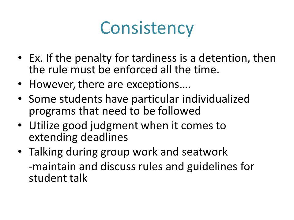 Consistency Ex.