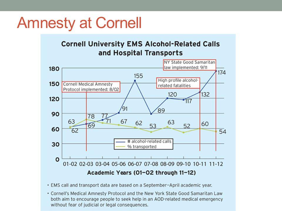 Amnesty at Cornell
