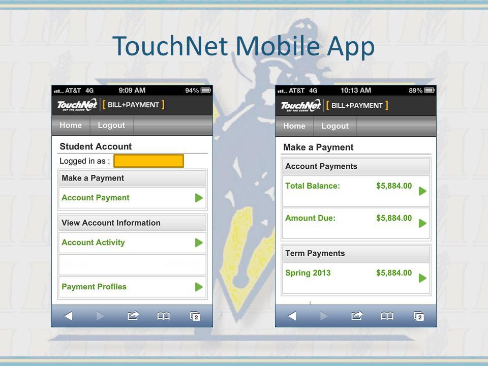 TouchNet Mobile App