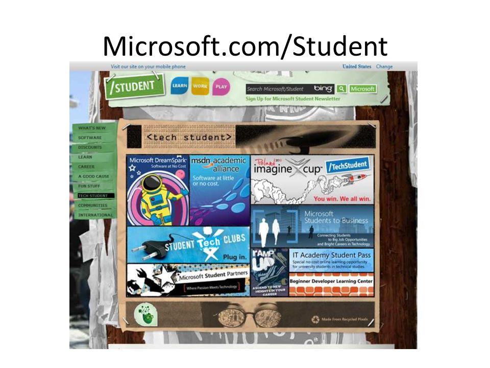 Microsoft.com/Student